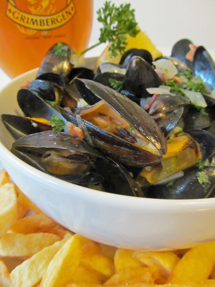 ... Seafood on Pinterest | Mussels, Steamed Mussels and Mussel Recipes
