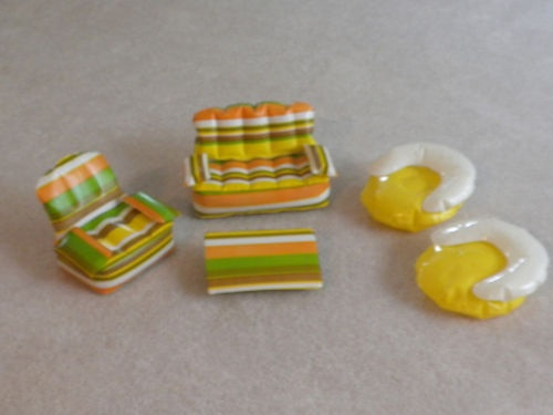 1970'S Barbie blow up furniture.. I had these!