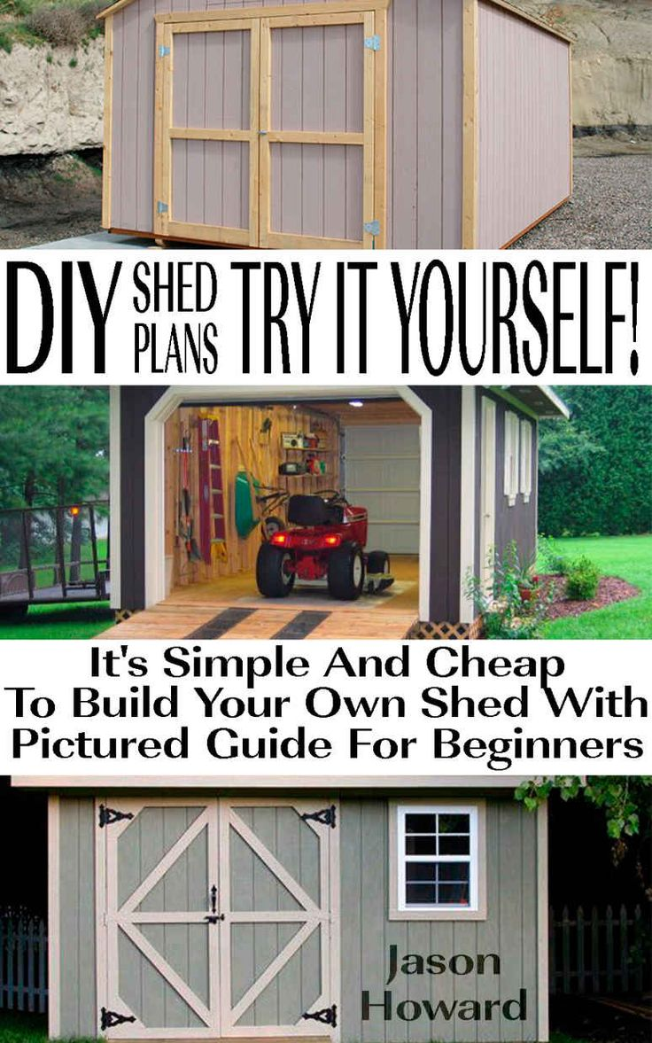Now You Can Build ANY Shed In