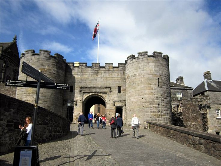 Шотландия: Знаменитый Замок Стирлинг (Stirling) Ч.1 История.