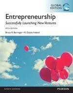 Entrepreneurship : successfully launching new ventures  BARRINGER Bruce R. ; IRELAND R. Duane