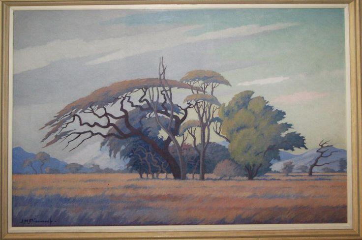 K Unit 5  The Great Big World / Pierneef, Trees in Woodland Landscape