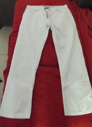 À vendre sur #vintedfrance ! http://www.vinted.fr/mode-hommes/jeans/35147114-jean-coupe-regular-blanc-la-redoute-neuf-jamais-porte
