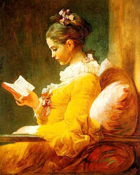Arte: Menina lendo de Lucia de Lima         CAPÍTULO VI     Ana Maria Louzada         A menina dormia com seus livros... Sonhava sonho...