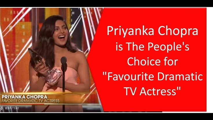 People's Choice Awards 2017: Priyanka Chopra bags Favorite Dramatic TV A...