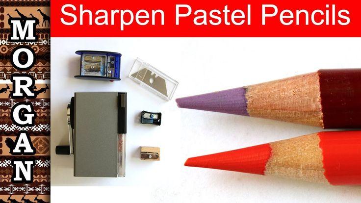 How To Sharpen Pastel Pencils Pastel Pencils For Beginners Jason Morgan Wildlife Art Youtube Pastel Pencils Pencil Colored Pencil Techniques