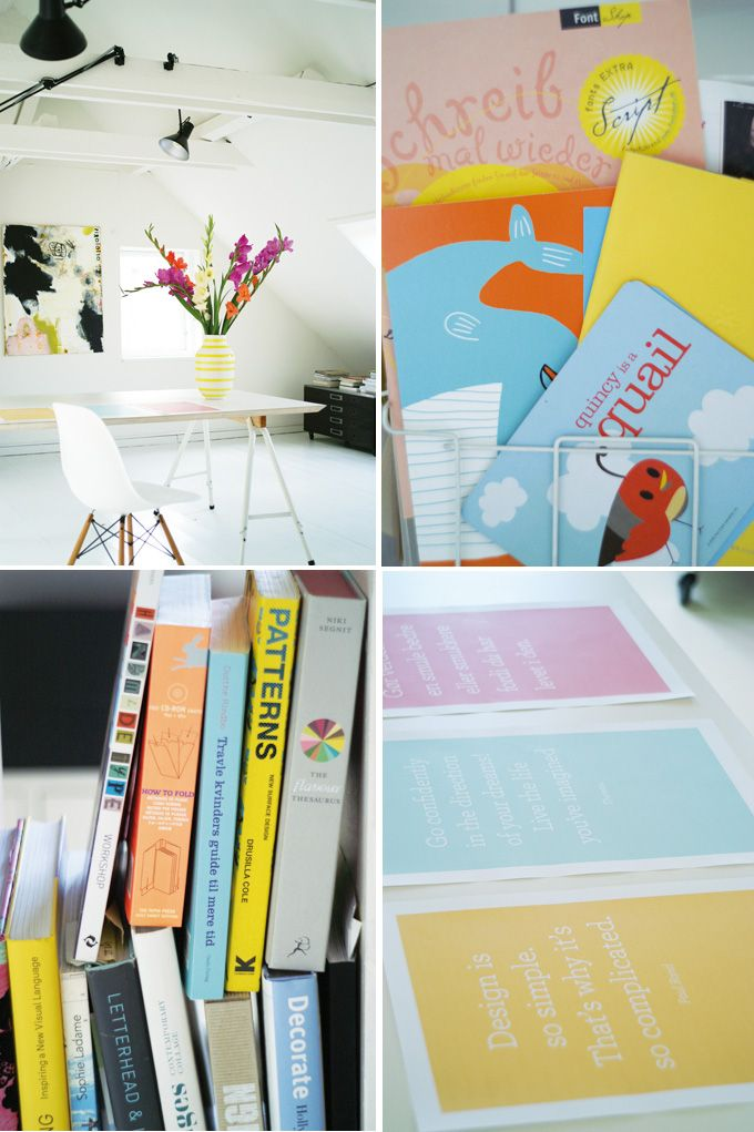 Studio snapshots from today - love the synergy.