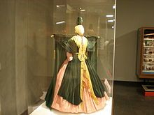 The curtain dress!  I am old enough to remember seeing this the first time on The Carol Burnett Show---funniest thing I have ever seen.