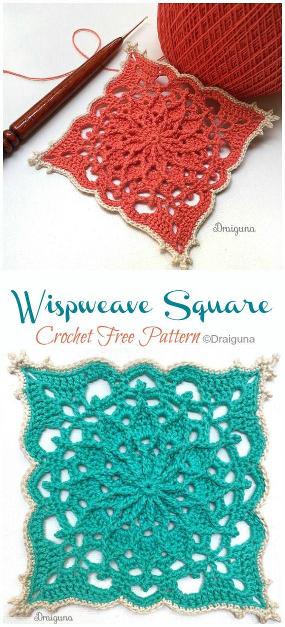 Wispweave Lace Doily Crochet Free Pattern