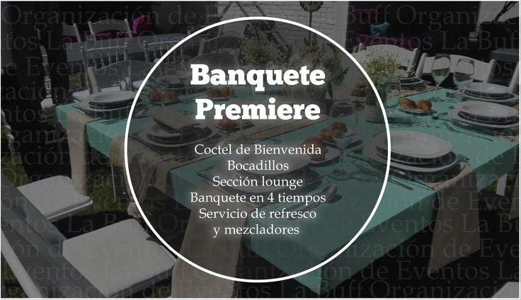 #BanquetePremier #BanquetesEventos #CDMX #Eventos Lleva a tu evento el mejor Banquete en México. Nosotros te ofrecemos el mejor servicio para tus invitados. ORGANIZACIÓN DE EVENTOS La Buff.  Tel: 36 00 52 74 WhatsApp. 55 83 45 07 79 www.eventoslabuff.com