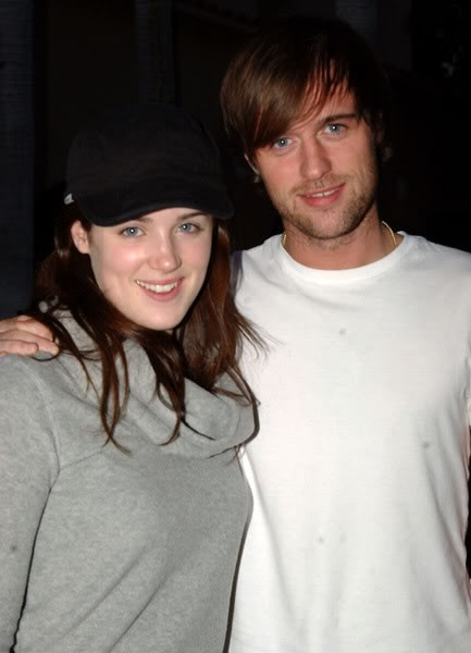 Lucy Griffiths and Jonas Armstrong <3