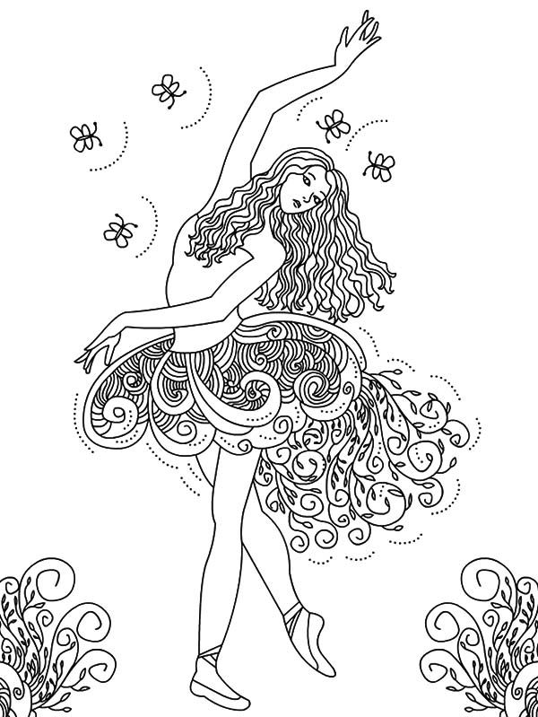 The Disney Princess Ariel Coloring Pages Coloring As One Of The Best Kids Activity Has Be Ballerina Coloring Pages Dance Coloring Pages Princess Coloring Pages
