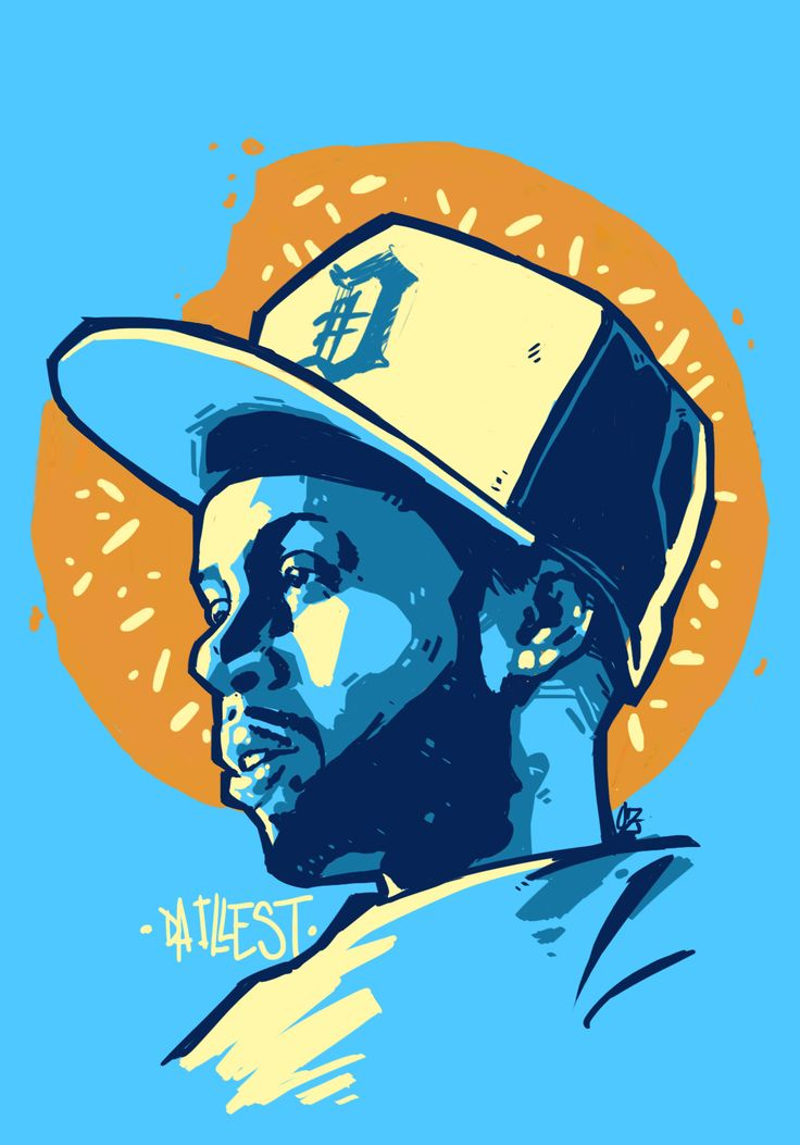 Jdilla Illustration By Oz Montania All Hands On Deck