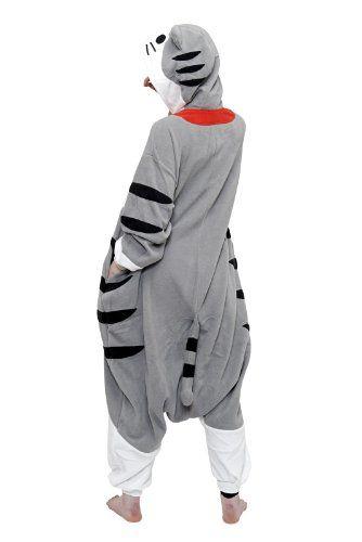 Tabby Cat Kigurumi (Adults) - Click image twice for more info - See a larger selection of mens halloween costume at http://costumeriver.com/product-category/mens-halloween-costumes/ -  holiday costume , event costume , halloween costume, cosplay costume, classic costume, scary costume, super heroes costume, classic costume, clothing