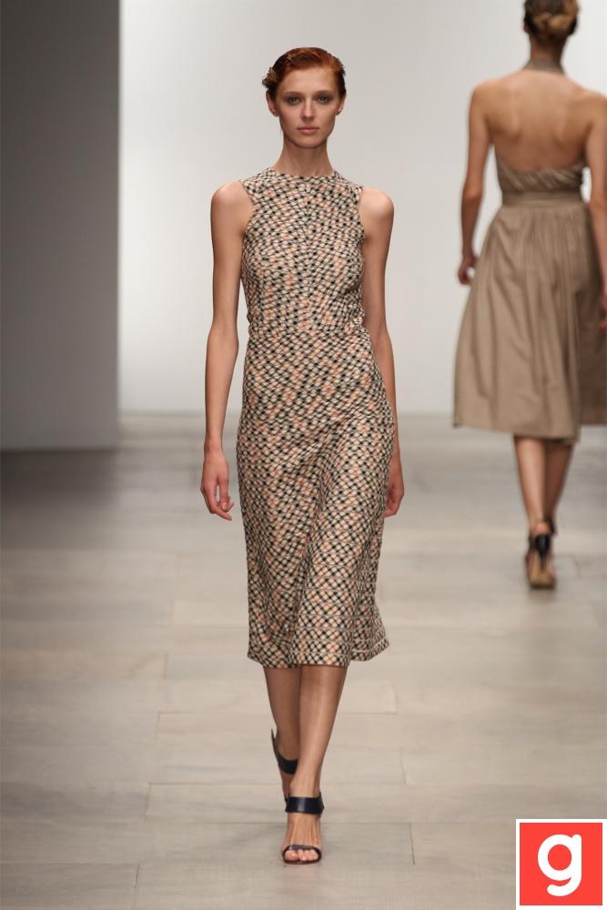 Nice dress.