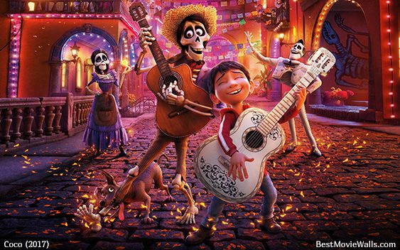 #Coco - #Hector #Miguel #Imelda #Ernesto and #Dante in this wallpaper hd :}