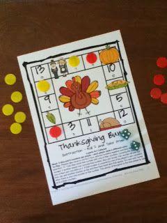 Thanksgiving Math Fun