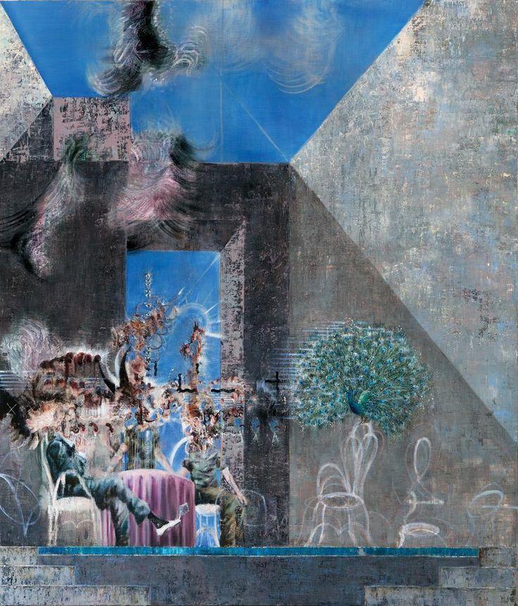 Michael Kunze, Marcels Beute/Pierres Verlangen, 2008-09, Painting Forever, Neuen Nationalgalerie Berlin