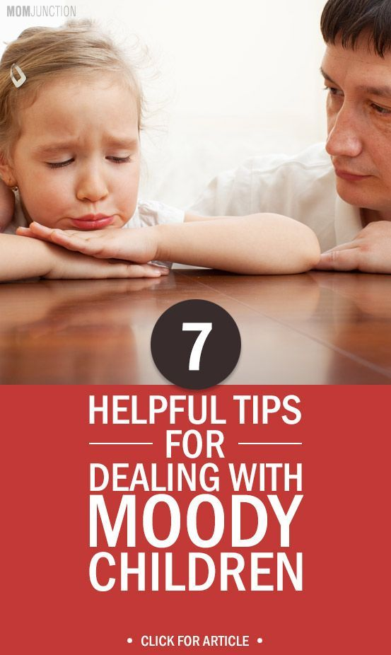 Surprised to see your kid throwing tantrums & sulking in the corner? Don't worry. It is quite common in kids. Check 7 helpful tips to handle moody children.