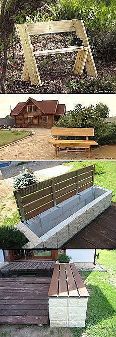 Поиск на Постиле: садовые скамейки