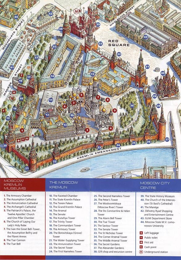 Kremlin Map 33 best images ...