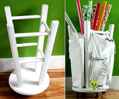 This is a great idea to keep supplies organized.  Check out our other ways to reuse materials that will help keep your work space nice and tidy.  taintediris:    [click the link for instructions ^_^]: Art Ideas, Rooms Ideas, Paper Organization, Great Ideas