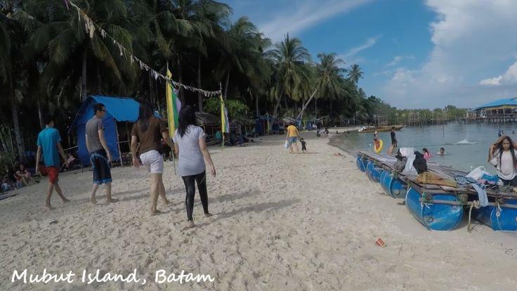 Pesona Indonesia : #3 - Keindahan Pantai Pulau Mubut Darat, Batam