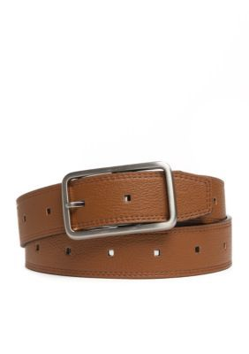 New Directions Reversible Belt - Tan/Black - M/L
