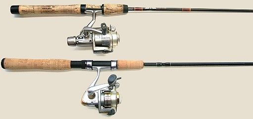 Learn the difference in the types of fishing rods & reels.