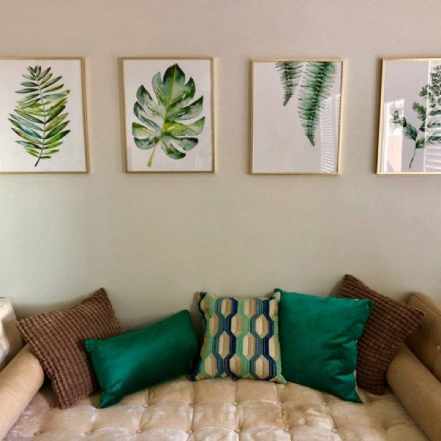 Banana Leaf Decor Banana Leaves Art Banana Leaf Wall Art Banana Leaves Decor Banana Leaf Print Banana Leaves Tropical Leaf Prints Tropicheskie Cvety Kartiny Interer