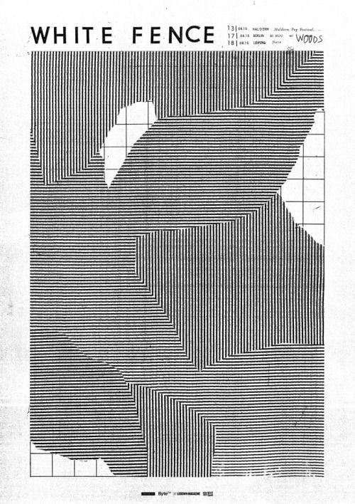 garadinervi:    Damien TranWhite Fence – New Leipzig Venue + poster
