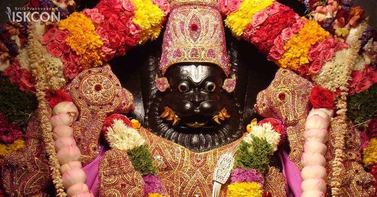 We are celebrating Sri Narasimha Jayanti, the appearance day of Sri Narasimhadeva at ISKCON Sri Radha Krishna Temple on May 9, 2017.