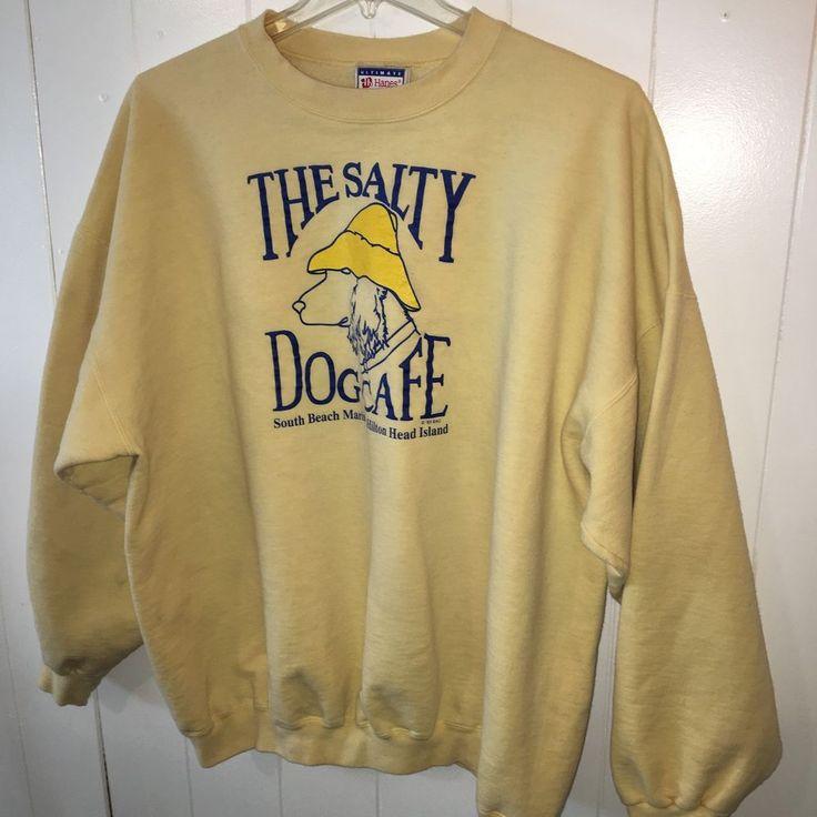 The Salty Dog Cafe Vintage Sweatshirt Size 2XL   eBay