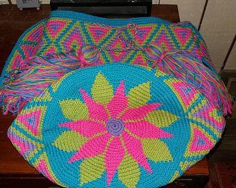 Mochila bag type wayuu mochilas bag handbag ethnic