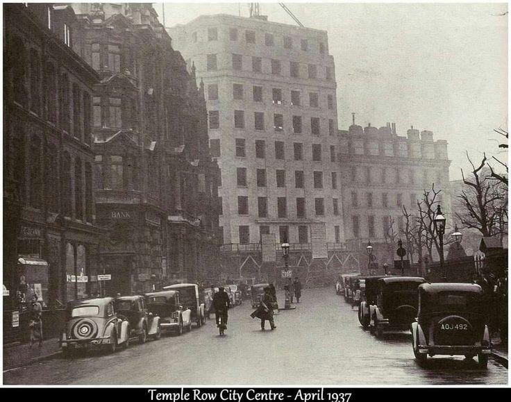Temple Row, Birmingham UK 1937