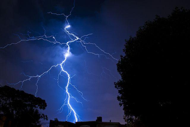Some lightning I shot in September of 2011.