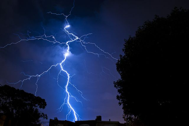 Some lightning I shot in September of 2011.