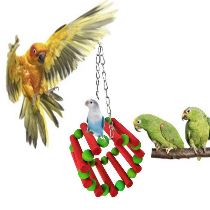 Parrot Toys Christmas Bird Cage Decorative Set Christmas Gifts For Pets Parrot Toys Christmas Animals