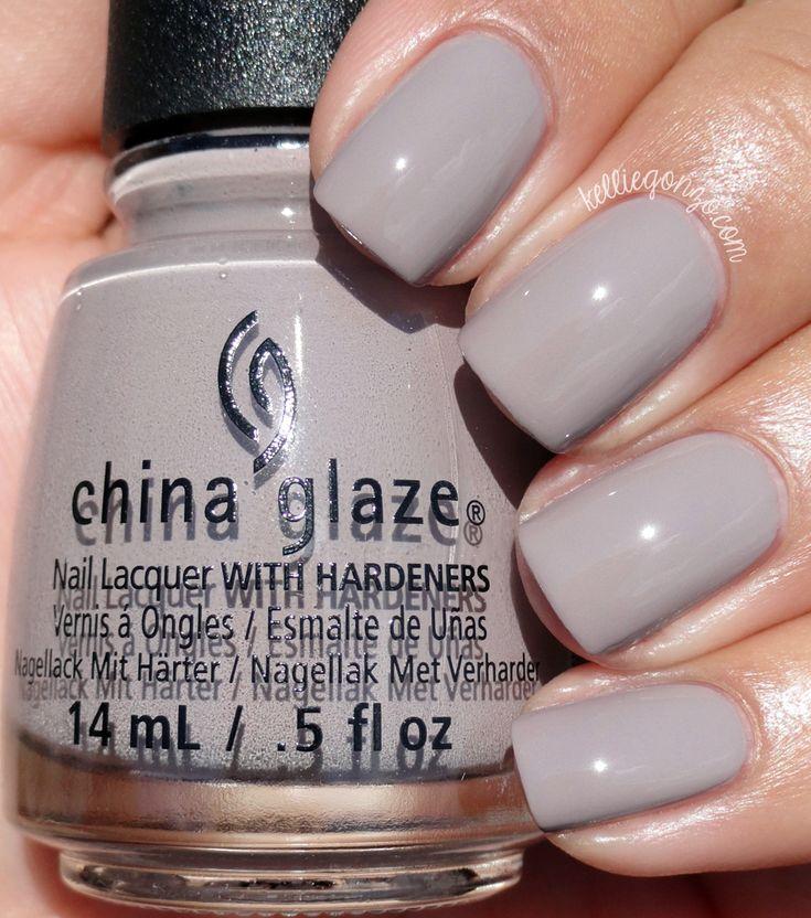 China Glaze Grey Nail Polish: 1000+ Ideas About China Glaze On Pinterest