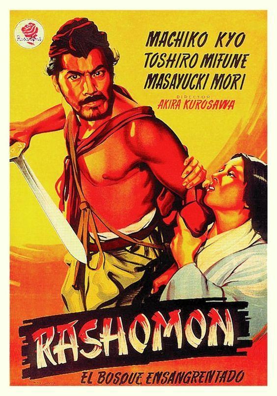 """Rashomon el bosque ensangrentado (1950) """"Rashômon"""" de Akira Kurosawa - tt0042876"""