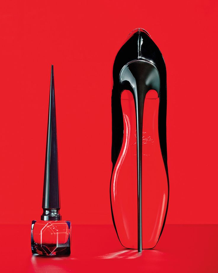 One Vogue Editor Takes Christian Louboutin\u0027s New Scarlet Nail Polish for a  Test Drive