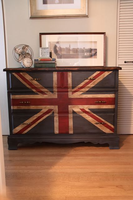 union jack dresser - Google Search