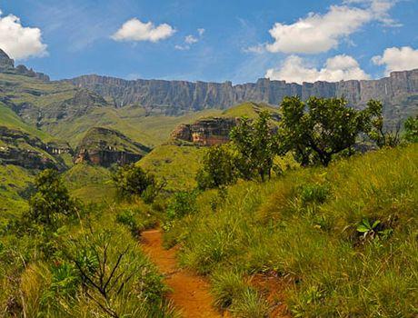 South Africa Walking Tours - Highlights: Mpumalanga - Panorama Route sight seeing. Kruger National Park – game drives. Swaziland – mountain walks, cultural adventure. KwaZulu Natal – walk, game drive and museums. Drakensberg Mountains – mountain walks. 8 walks of varying grades – Mac Mac, Blyde River Canyon, Big 5, Swaziland, Isimangaliso, Zululand, Drakensberg, The Amphitheatre.