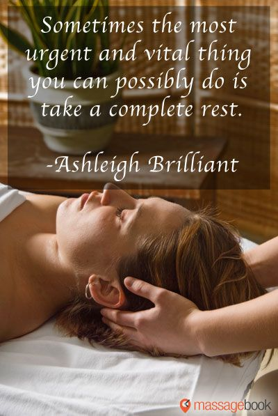 Massage Quotes - Sometimes the most urgent and vital thing you can do is...   How true! #massage #massagetherapy #massagequotes