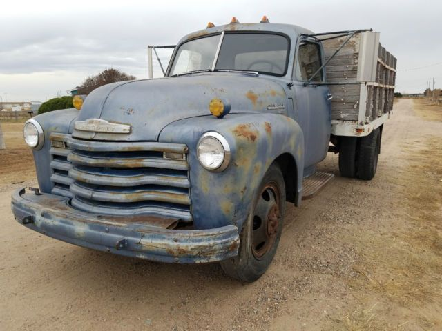 1949 CHEVROLET 6400 DUMP FARM TRUCK RUNS WELL 2 TON WORK PATINA 1/2 CHEVY for sale: photos, technical specifications, description