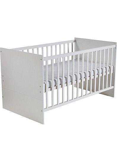 Kinderbett MAREN, Weiß, 70 x 140 cm