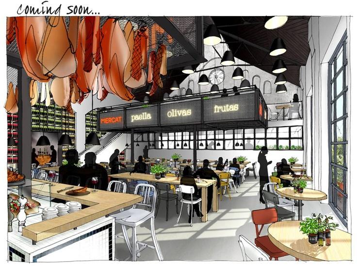 MERCAT - new IQ group restaurant opening 2nd September.  Must try next time!