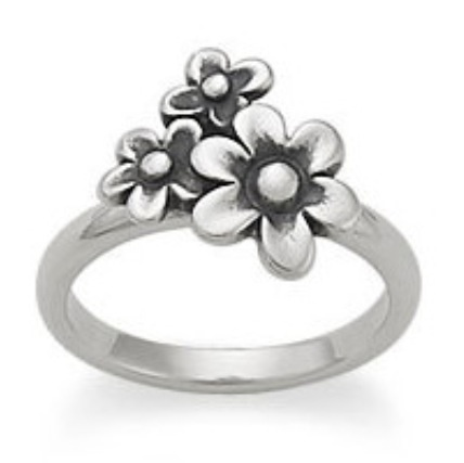 graphic regarding James Avery Printable Coupons identified as James avery april flower / Existing Wholesale