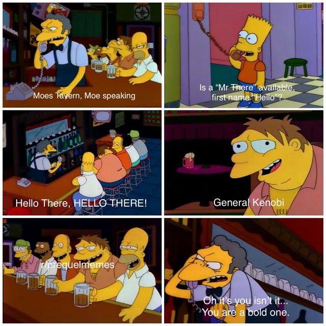 Simpsons Cross Posting Prequelmemes Star Wars Humor Star Wars Nerd Star Wars Memes