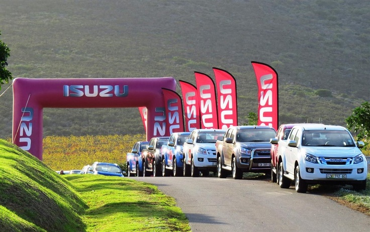 Our recent Isuzu KB open day down in the Western Cape.